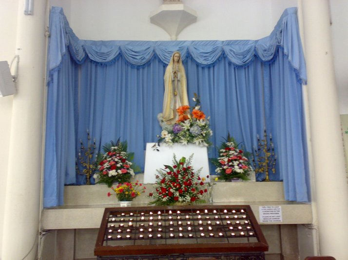 Mother Mary at St. John, KL